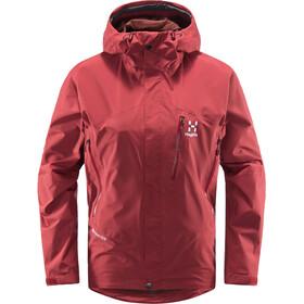 Haglöfs Astral GTX Jacket Women brick red